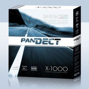 Автомобильная микросигнализация Pandect X-1000