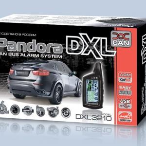 Автосигнализация Pandora DXL 3210