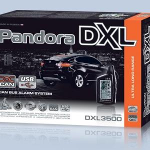 Автосигнализация Pandora DXL 3500 с автозапуском