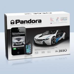 Автосигнализация Pandora DXL 3930 GSM с автозапуском