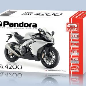 Мотосигнализация Pandora DXL 4200