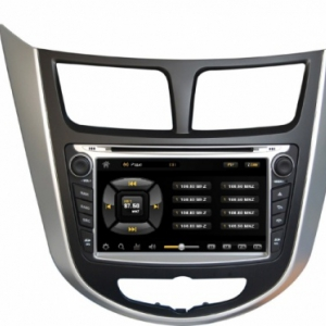 Штатное головное устройство на Android для Hyundai Solaris