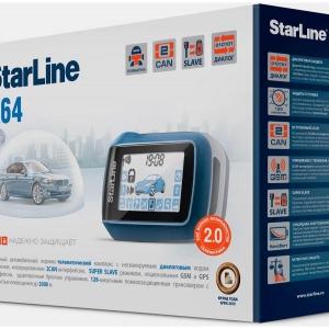 Сигнализация StarLine А64 2CAN 2SLAVE + S-20.3
