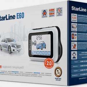 Автосигнализация StarLine E60 + S-20.3