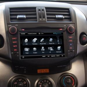 Штатное головное устройство на Android Toyota Rav4 (2007-2012)
